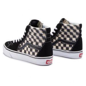 Vans Sk8-Hi Blur Check Black